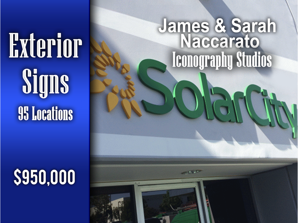 Exterior Signs - $950,000!
