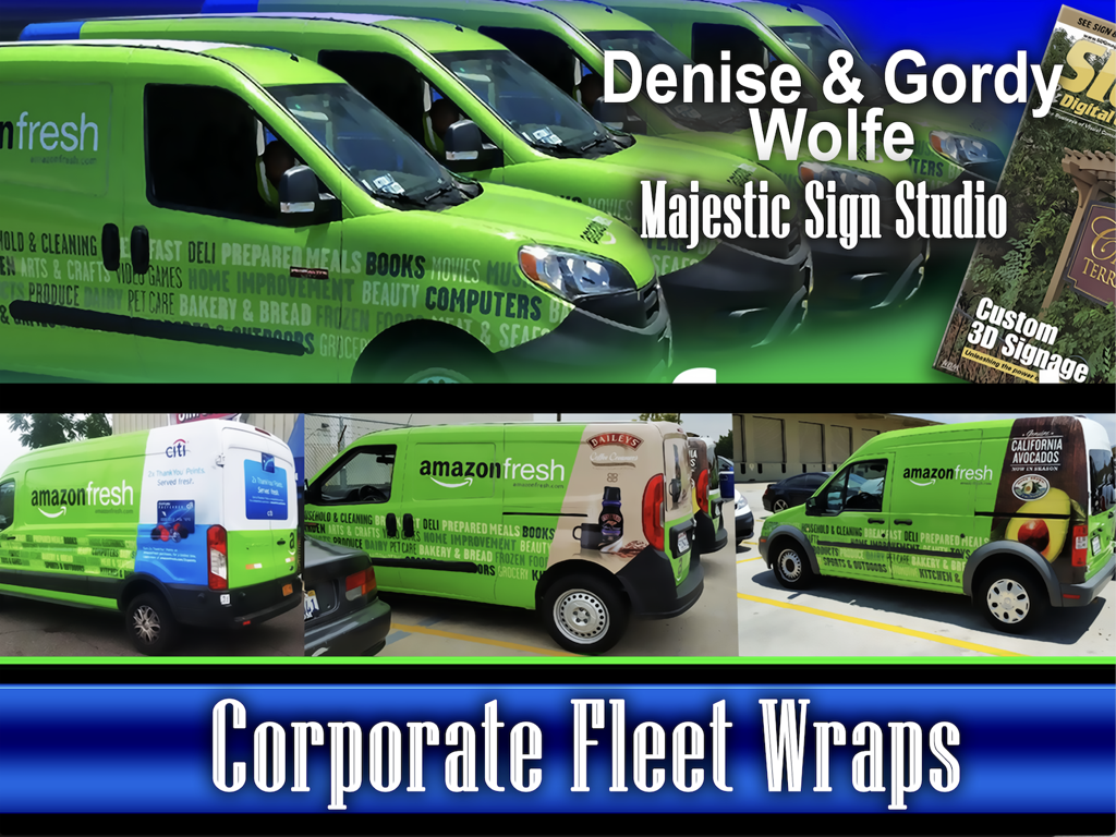 Corporate Fleet Wraps